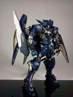 GUNDAM GUY: 1/100 Gundam Astraea Type-F - Customized Build