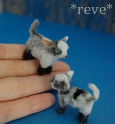 OOAK-Realistic-Miniature-Baby-Goats-Set-Handmade-Dollhouse-1-12-Sculpture (jt-cute baby goats set by Reve)