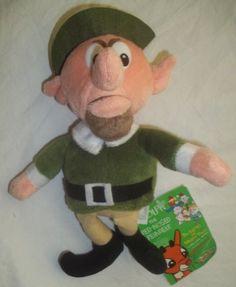 Rudolph Red Nosed Reindeer Boss Elf 1999 Stuffed Animal Plush Toy New Stuffins | eBay