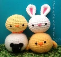 Free Amigurumi Patterns: Spring Squishies