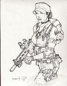 Lady Jaye - G.I. Joe - Wry1.deviantart.com