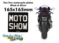 http://www.motoshowplates.com/platebuilder?size=black-and-silver-165x165mm