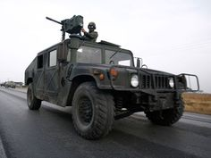 Image detail for -The Hummer H1 in military specification features a range of weapons ...
