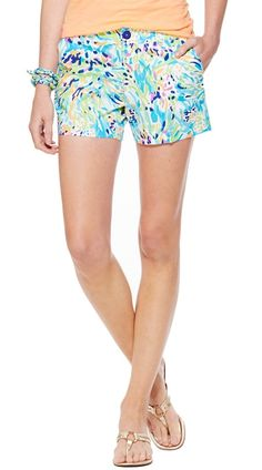 Lilly Pulitzer Callahan Short in Sea Soiree  - Do these come in maternity?