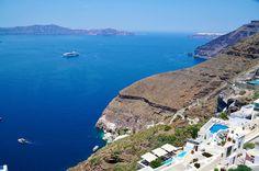 Fira the capital of Santorini  http://ift.tt/1mRHTcf  #santorini  #santorinivillas #santoriniheritage #greece #travel