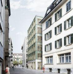 Harry Gugger . Frontgarten . St. Gallen (1)