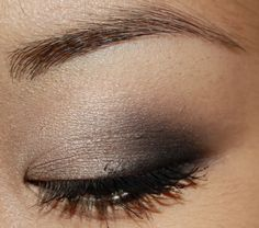 smoky eye for small eyelids  I really didn't realize I had small lids until I saw this and then it all made sense.  I have tiny lids.