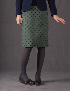 I have this A-Line skirt from Boden. I flat love it.