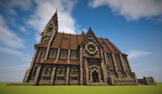 ♱ Medieval Churches ♱ Minecraft Project