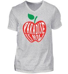http://www.shirtee.de/paradise-is-now-shirt  #paradise #paradise-is-now #apple #apfel #tshirt