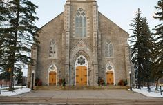 Image result for church on the rock burleigh falls ontario The Rock, Ontario, Notre Dame, Architecture, Fall, Building, Travel, Image, Arquitetura