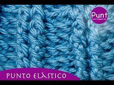 Aprende a hacer punto elástico a crochet paso a paso.