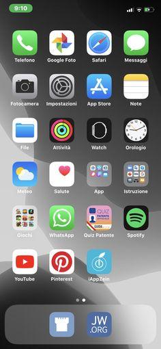 iPhone Organization