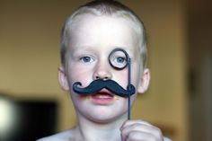 """""""Cheerio"""", fake mustache Fake Mustaches, Moustache, Animals For Kids, Carnival, Face, Beauty, Mustache, Carnavals, The Face"""