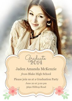 118 best graduation party invitations and announcements images on