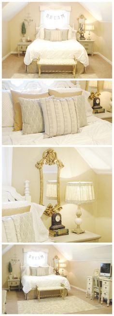 Gorgeous Master Bedroom Makeover www.classyclutter.net