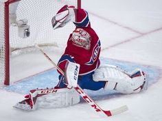 Carey Price glove save for my dear friend Bianca Sommerland Hockey Pads, Goalie Pads, Goalie Gear, Hockey Goalie, Stars Hockey, Usa Hockey, Montreal Canadiens, Of Montreal, National Hockey League