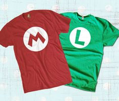 Mario Bros. T-shirt Combo Pack Available at Teesquare.