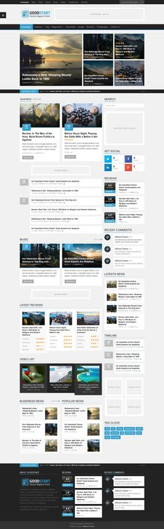 GoodStart - Multipurpose Magazine Wordpress Theme #web #wptheme Live Preview and Download: http://ksioks.com/portfolio/goodstart-multipurpose-magazine-wordpress-theme/