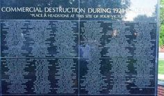 List of Businesses Destroyed during the Destruction of Black Wall Street in Greenwood, Ok (suburb of Tulsa) May 31 - June 1, 1921. Tragically STILL one of the bloodiest and most horrendous race riots (and acts of terrorism) that the United States has ever experienced.  This was the type of community that African Americans are still, today, attempting to reclaim and rebuild.  It was modern, majestic, sophisticated and unapologetically Black TIME TO REBUILD!