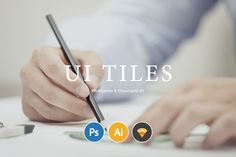 Check out UI Tiles: Website Flowcharts by PixelBuddha on Creative Market