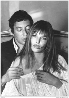 Serge Gainsbourg and Jane Birkin.