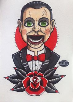 Dead Silence, Billy illustrated by Christie O'Doherty