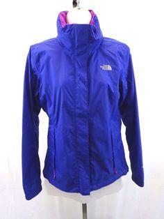 THE NORTH FACE Northface Windbreaker Rain Jacket Blue Purple Women's Small RARE #TheNorthFace #Windbreaker