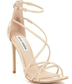 Classic strappy nude heels to go with each dress
