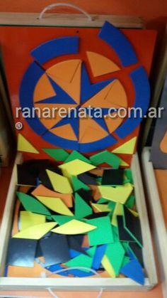 Mandalas imantado en caja ranarenata.com.ar