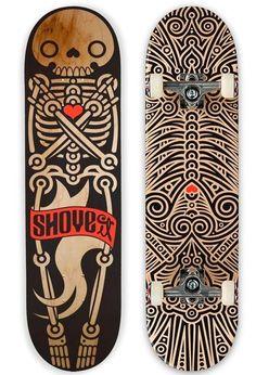 滑板与插画的融合