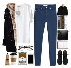 """""""Monday, 2:45 a.m"""" by skinx ❤ liked on Polyvore featuring MANGO, American Vintage, ABOKI, ASOS, Pull&Bear, Coach, Michael Kors, Aesop and country"""