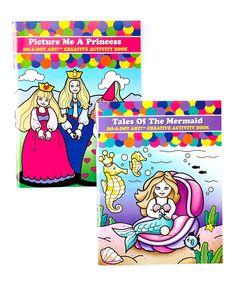 Look at this Princess & Mermaid Activity Book Set on #zulily today!