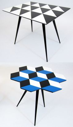 Parquet tables by Rockman & Rockman @ Darkroom