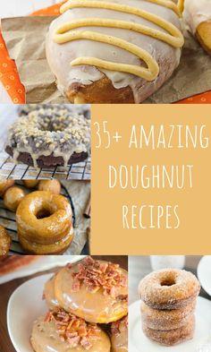 35+ Homemade Doughnuts Recipes