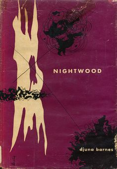 Nightwood cover by Alvin Lustig