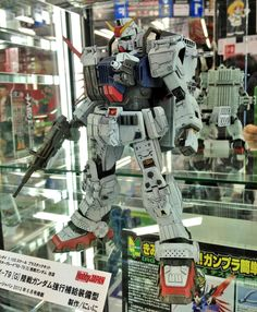 1/100 RX-79[G] Gundam Ground Type - Custom Build On Display @ Yodobashi Akiba