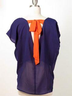 $25 Shipped Orange & Purple Top ~ Clemson Fans?