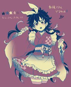 Boku no Hero Academia    Midoriya Izuku (Version Female)