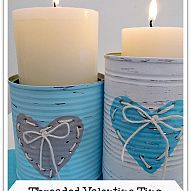 A great up cycling idea. I had so much fun creating these cute distres… :: Hometalk