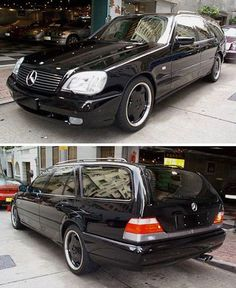 Sultan of Brunei's S7.3 Estate AMG 1 of 10 built for him.