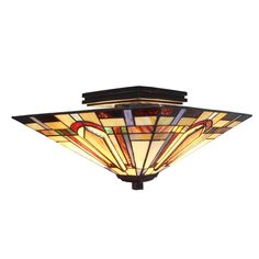 Shop Fine Art Lighting Ltd. Tiffany Style Semi-Flush Ceiling Light at Lowe's Canada. Find our selection of flush mount lighting at the lowest price guaranteed with price match. Led Flush Mount, Flush Mount Lighting, Tiffany, Fine Art Lighting, Hallway Lighting, Kitchen Lighting, Semi Flush Ceiling Lights, Ceiling Fixtures, Light Fixtures