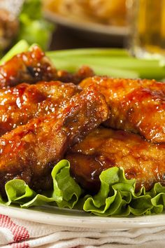 Sweet and Spicy Honey Chicken Wings Recipe