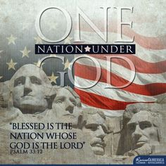 Blessed is the nation whose God is the Lord,  the people he chose for his inheritance.  Psalm 33:12.