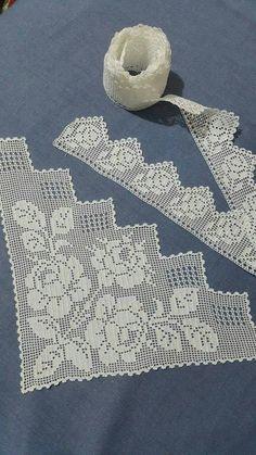 Crochet and Knitting Crochet Hood, Crochet Lace Edging, Crochet Motifs, Crochet Borders, Thread Crochet, Crochet Doilies, Crochet Flowers, Crochet Stitches, Baby Knitting Patterns