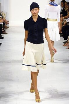 Ralph Lauren Spring 2006 Ready-to-Wear Fashion Show - Natasha Poly