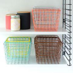 Four Small Storage Basket Nest