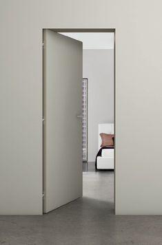 The Filomuro Zero Hinged Door is a contemporary internal door with a crisp minimalistic design from IQ Furniture.