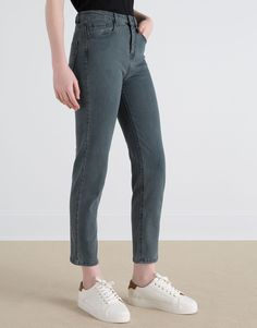 BASIC HIGH WAIST JEANS - NEW PRODUCTS - NEW PRODUCTS - PULL&BEAR Greece
