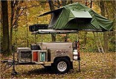 Camping liefhebbers kunnen vinden dat de Campa USA alle terrein Trailer tot hun steegje is. Deze all-in-one-trailer heeft vrijwel alles wat nodig is voor die outdoor uitje-avontuur.